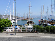 Fethiye harbour Stock Photos