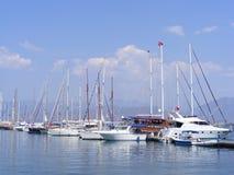 Fethiye Jachthafen Lizenzfreie Stockfotos