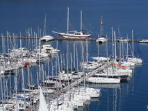 Fethiye Jachthafen Lizenzfreies Stockbild