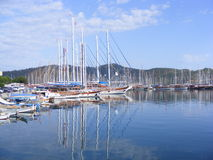 Fethiye Marina, Turkey Stock Photos