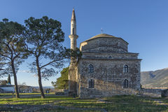 Fethiye Mosque in the castle of Ioannina, Epirus Royalty Free Stock Image
