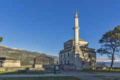 Fethiye Mosque in the castle of Ioannina, Epirus Stock Photography