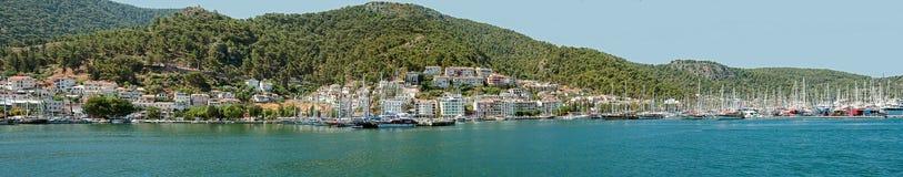 Fethiye panorama Stock Photos