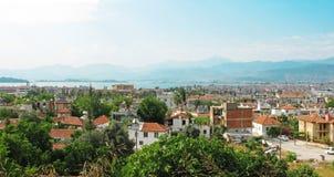 Fethiye resort in the mediterranean sea turkey Stock Image