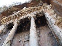 Fethiye rock tombs Amyntas stock image