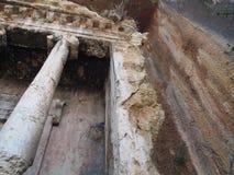 Fethiye rock tombs Amyntas royalty free stock photo