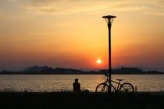 Fethiye-Stadt-Sonnenuntergang Lizenzfreie Stockbilder