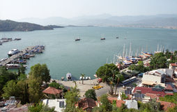 Fethiye town view Royalty Free Stock Photo