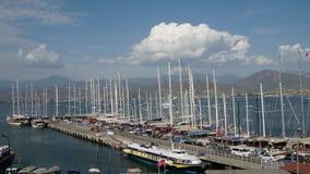Fethiye Turkey Harbor stock video footage