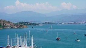 Fethiye Turkey Harbor stock video