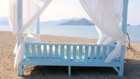 Fethiye, turkey, majestic summer travel destination, gorgeous beach sea view stock video