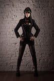 Fetischmodell Fotografering för Bildbyråer