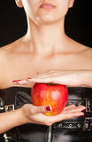 Fetish apple Stock Photography