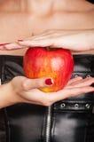 Fetish apple Royalty Free Stock Photos
