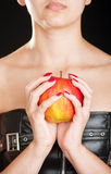 Fetish apple Royalty Free Stock Image