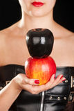 Fetish apple Royalty Free Stock Photography