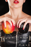Fetish apple Royalty Free Stock Photos