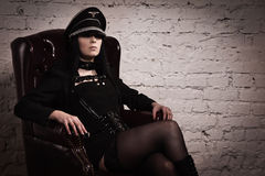 Fetish model Royalty Free Stock Photos