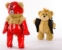 Fetish Teddies, Femdom and Exibitionist Stock Photography