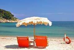 Fetovaia Beach. On Fetovaia Beach on the Island of Elba Royalty Free Stock Photo