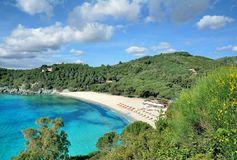 Fetovaia Beach,Island of Elba,Tuscany,Italy Royalty Free Stock Images