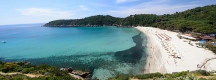 Fetovaia beach, Tuscany-Italy Stock Images