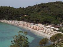Fetovaia - Elba Island lizenzfreie stockbilder