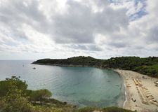 Fetovaia gulf and beach, Elba Royalty Free Stock Images