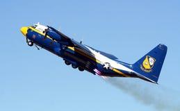 Fett Albert der blauen Engels-C-130 Lizenzfreie Stockbilder