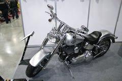 Fett-Junge Zerhacker-Harley-Davidson-Softail Stockbilder