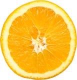 Fetta arancio Fotografie Stock Libere da Diritti