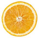 Fetta arancione Fotografia Stock