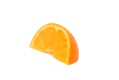 Fetta arancione Fotografie Stock