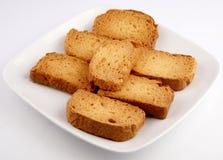 Fetta biscottata del tè Fotografia Stock