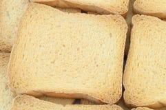 Fetta biscottata dorata Immagini Stock Libere da Diritti