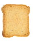Fetta biscottata dorata Fotografie Stock