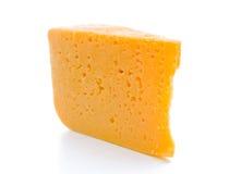 Fetta del formaggio Fotografie Stock Libere da Diritti