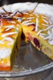 Fetta del grafico a torta della ciliegia Immagine Stock Libera da Diritti