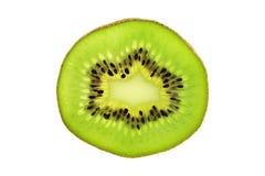 Fetta del Kiwi Fotografie Stock Libere da Diritti