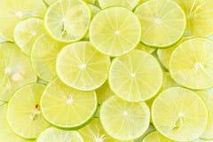 Fetta del limone Fotografie Stock Libere da Diritti