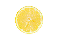 Fetta del limone immagini stock