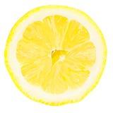 Fetta del limone di vettore. Fotografia Stock