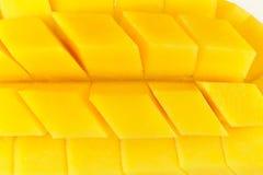 Fetta del mango Immagini Stock