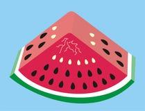 Fetta del melone Fotografie Stock Libere da Diritti