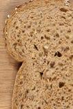 Fetta del pane di Brown Fotografia Stock Libera da Diritti
