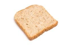 Fetta del pane isolata Immagini Stock Libere da Diritti