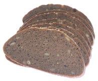 Fetta del pane nero Immagini Stock Libere da Diritti