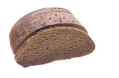 Fetta del pane nero Immagine Stock