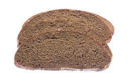 Fetta del pane nero Fotografia Stock Libera da Diritti
