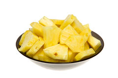 Fetta dell'ananas Fotografia Stock